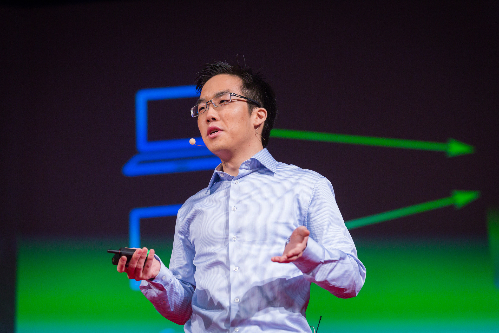 Andy Yen shares a big idea for the internet — privacy! Photo: James Duncan Davidson/TED