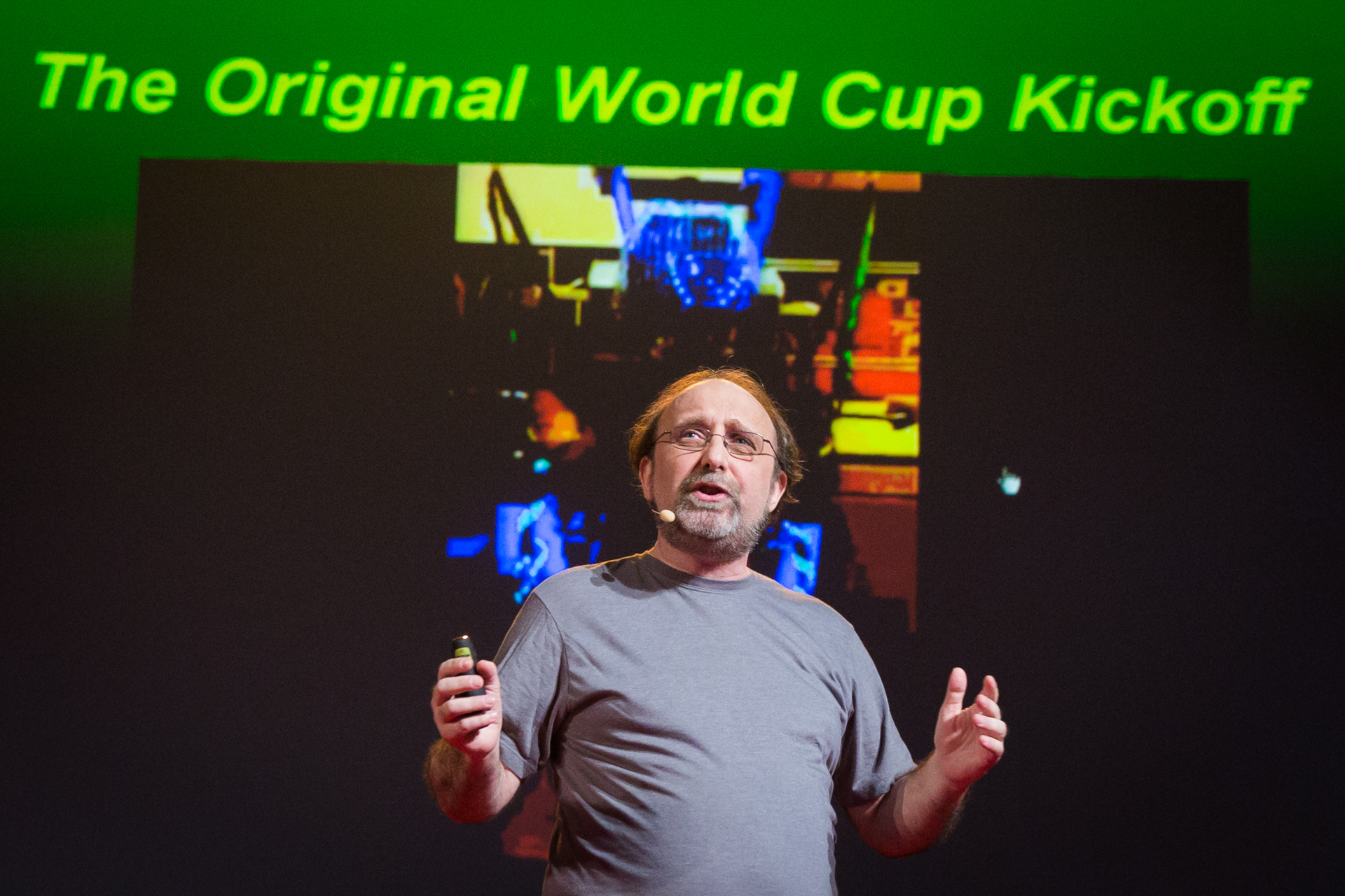 Miguel Nicolelis speaks at TEDGlobal 2014. Photo: James Duncan Davidson/TED