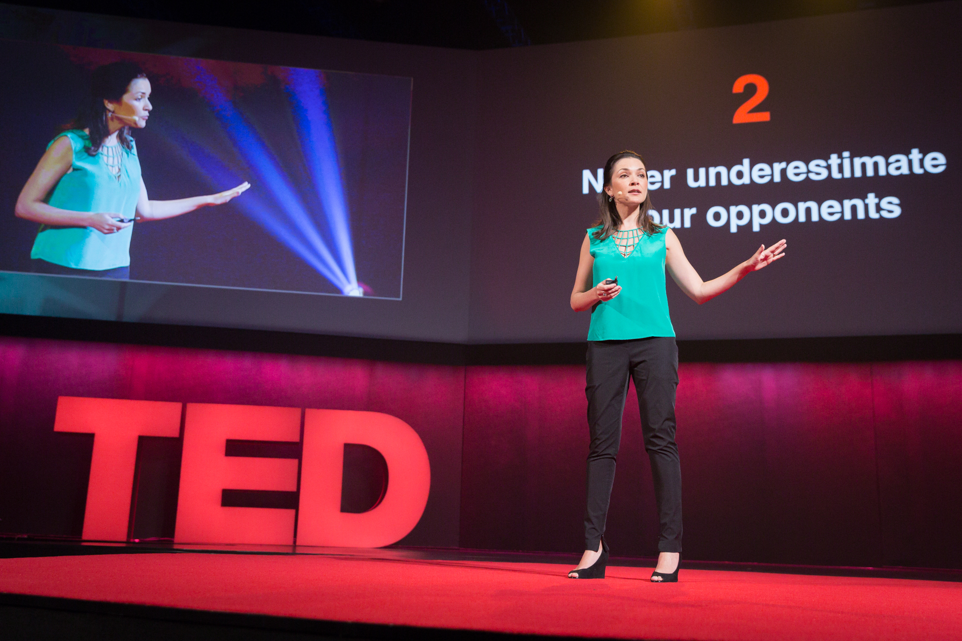 Ilona Szabo de Carvalho speaks at TEDGlobal 2014. Photo: James Duncan Davidson/TED