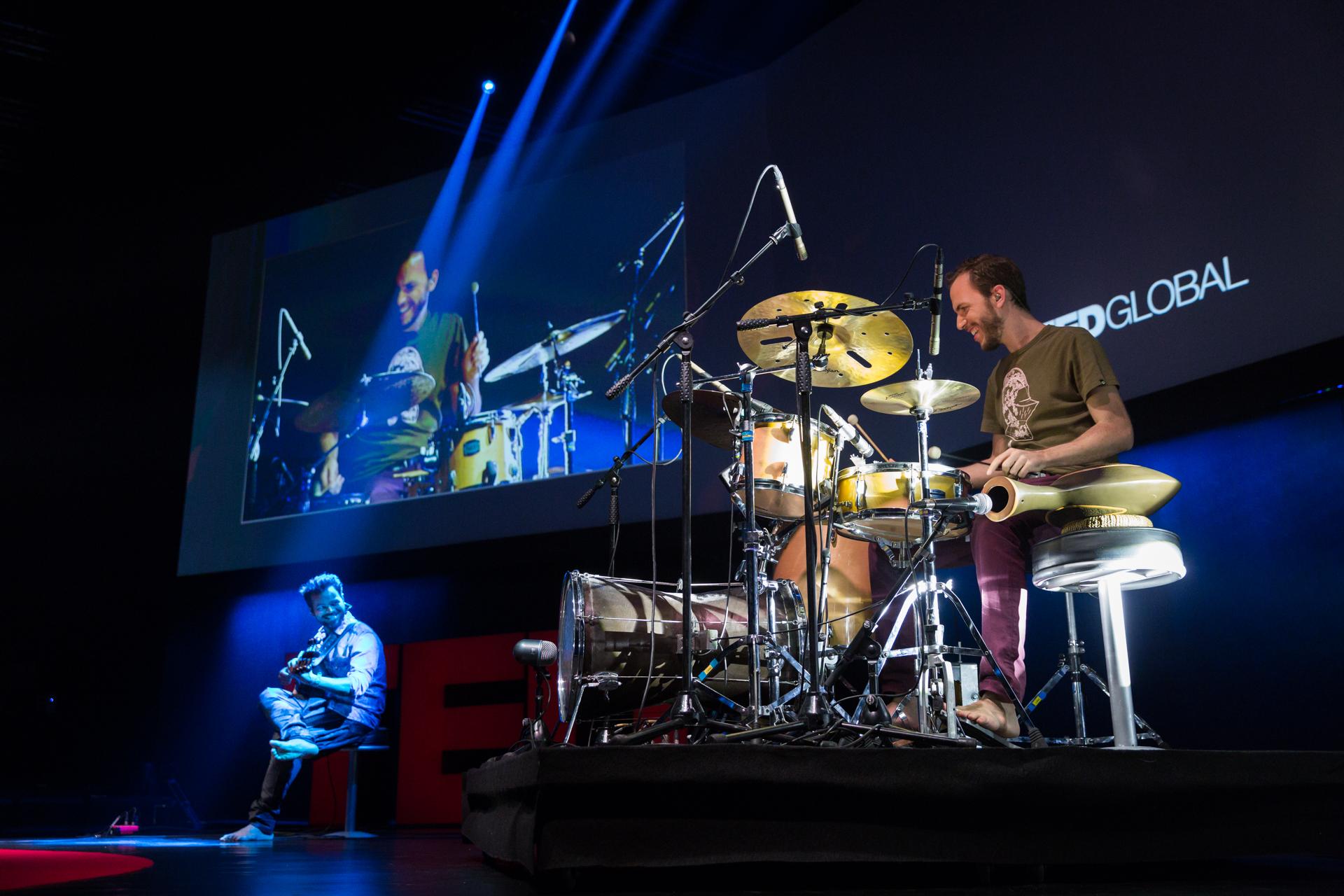 Circle of Sound performs at TEDGlobal 2014. Photo: James Duncan Davidson/TED