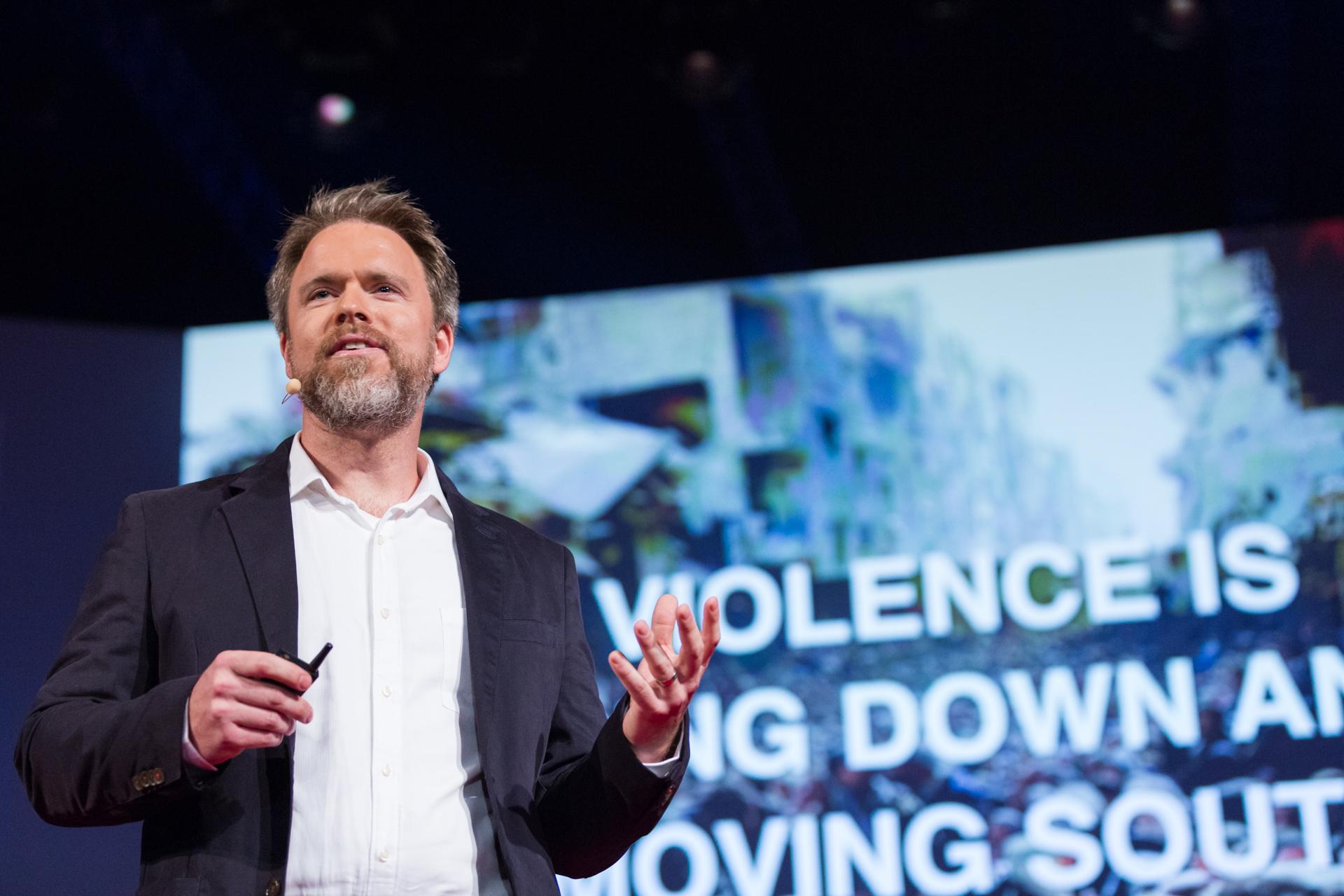 Robert Muggah speaks at TEDGlobal 2014. Photo: James Duncan Davidson/TED