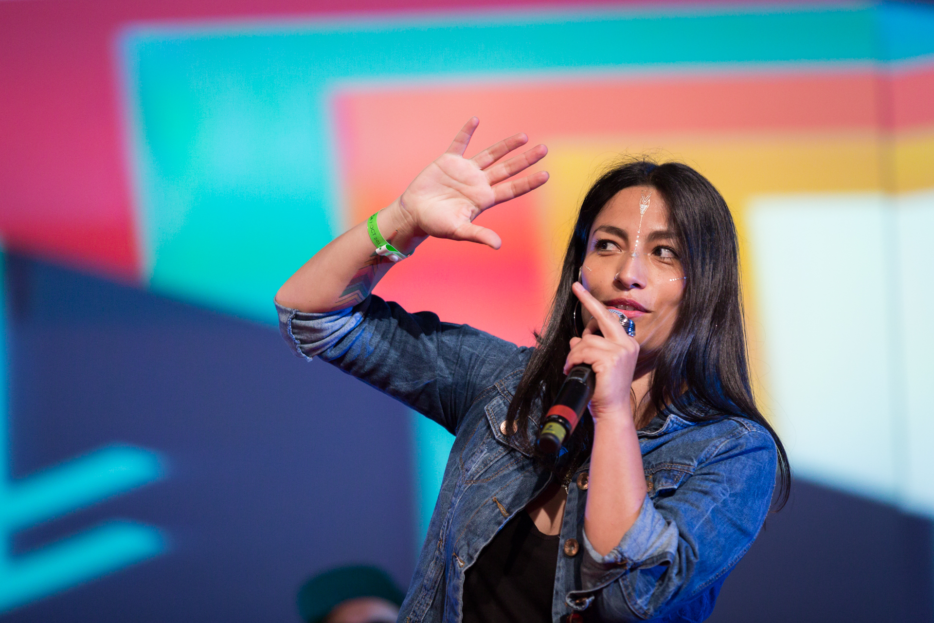 Ana Tijoux performs at TEDGlobal 2014.