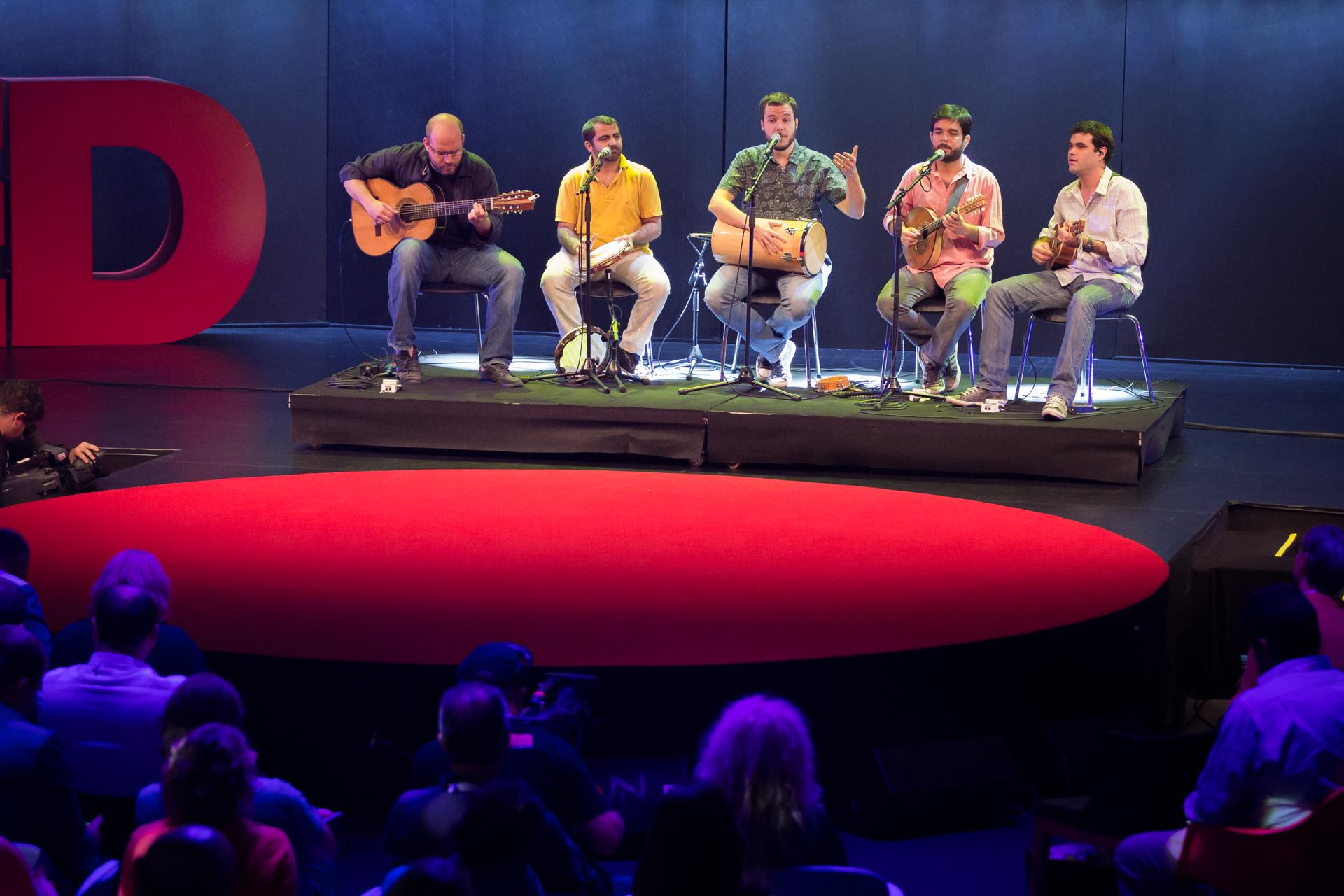 Casuarina perform at TEDGlobal 2014. Photo: James Duncan Davidson/TED
