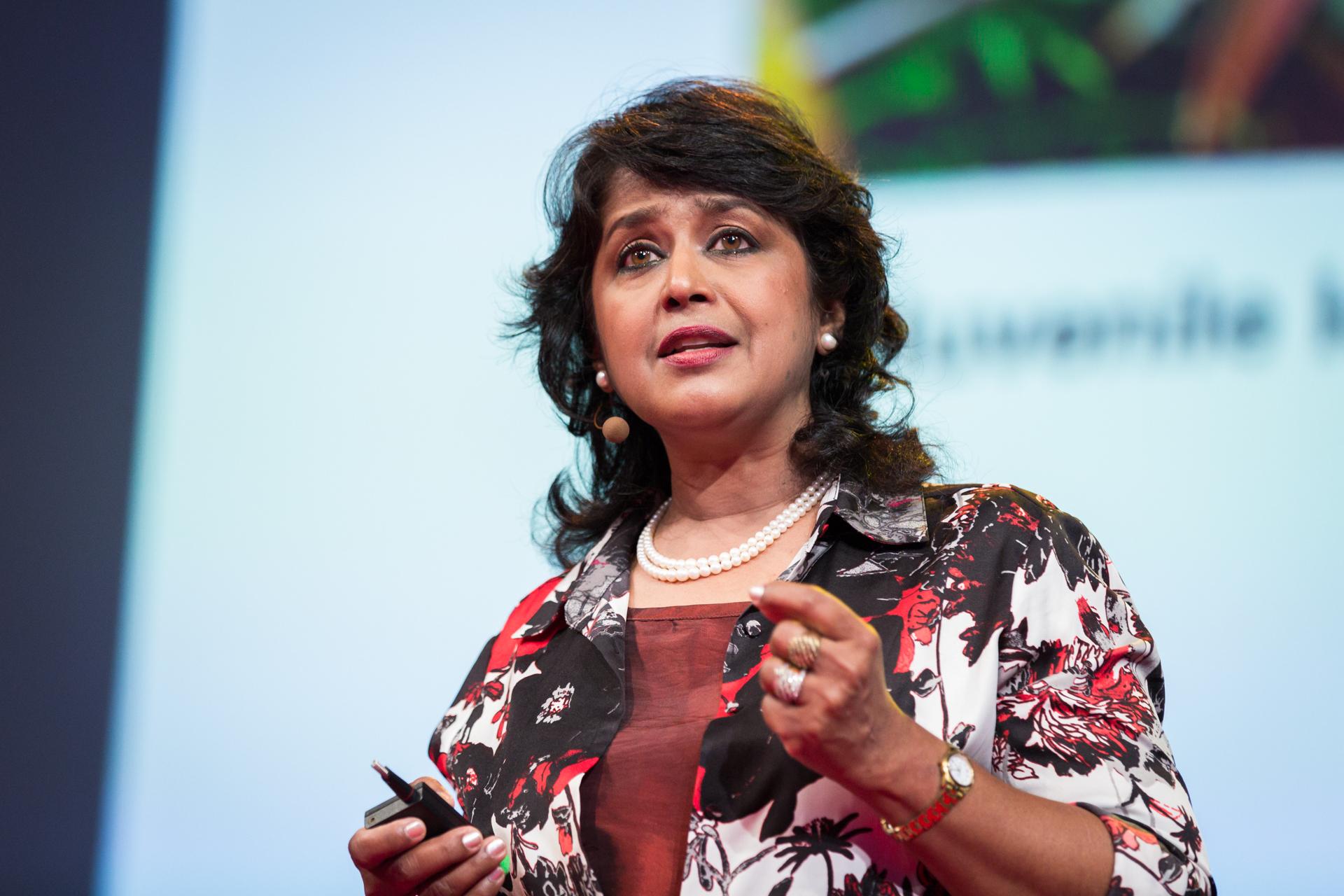 Ameenah Gurib-Fakim speaking at TEDGlobal 2014. Photo: James Duncan Davidson