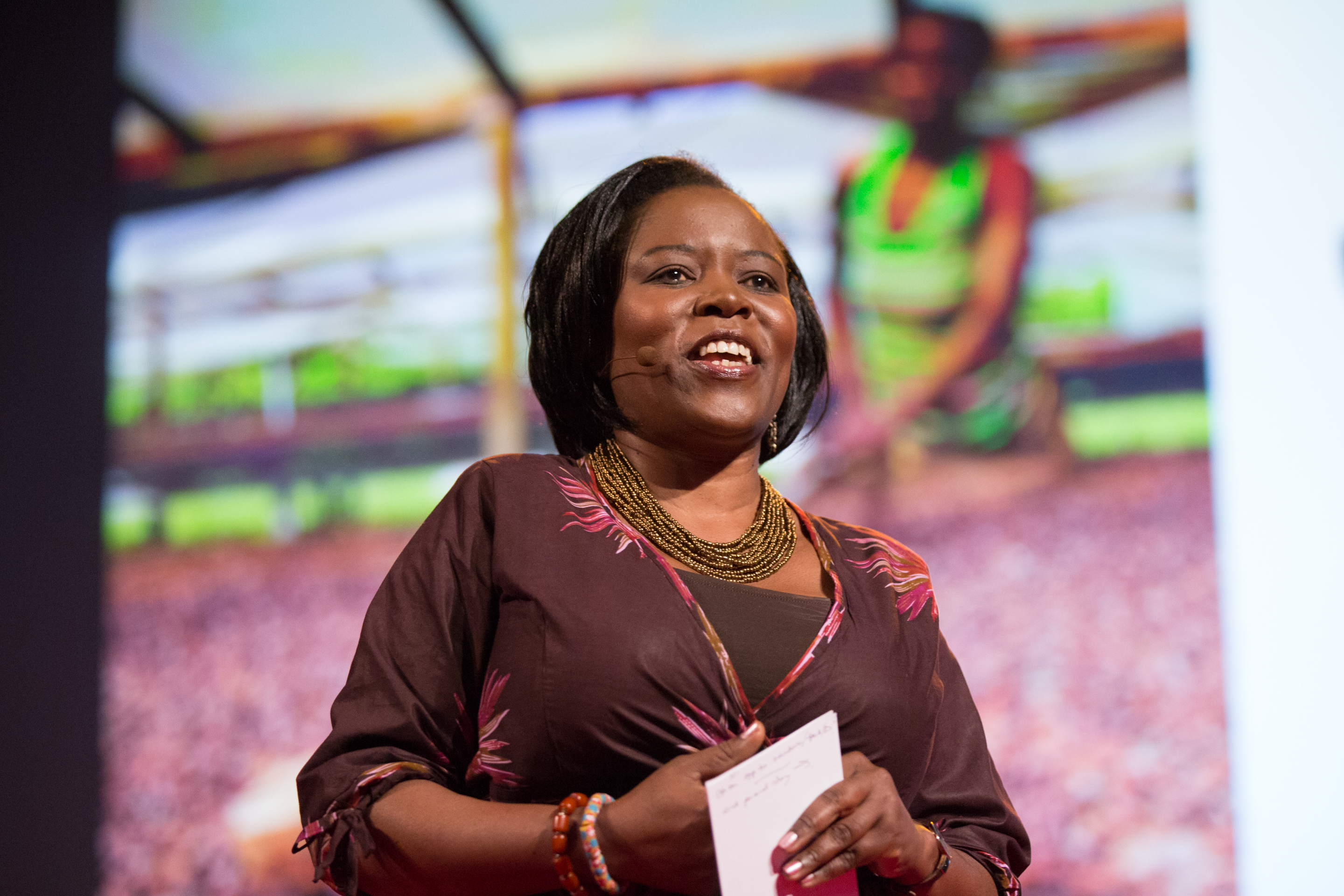 Sipho Moyo speaks at TEDGlobal 2014. Photo: James Duncan Davidson/TED
