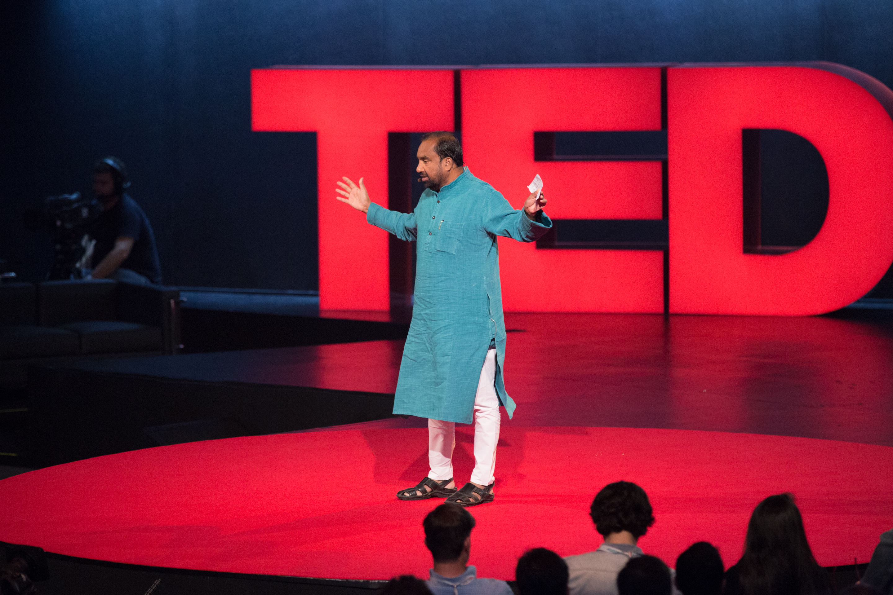 Navi Radjou speaks at TEDGlobal 2014. Photo: James Duncan Davidson/TED