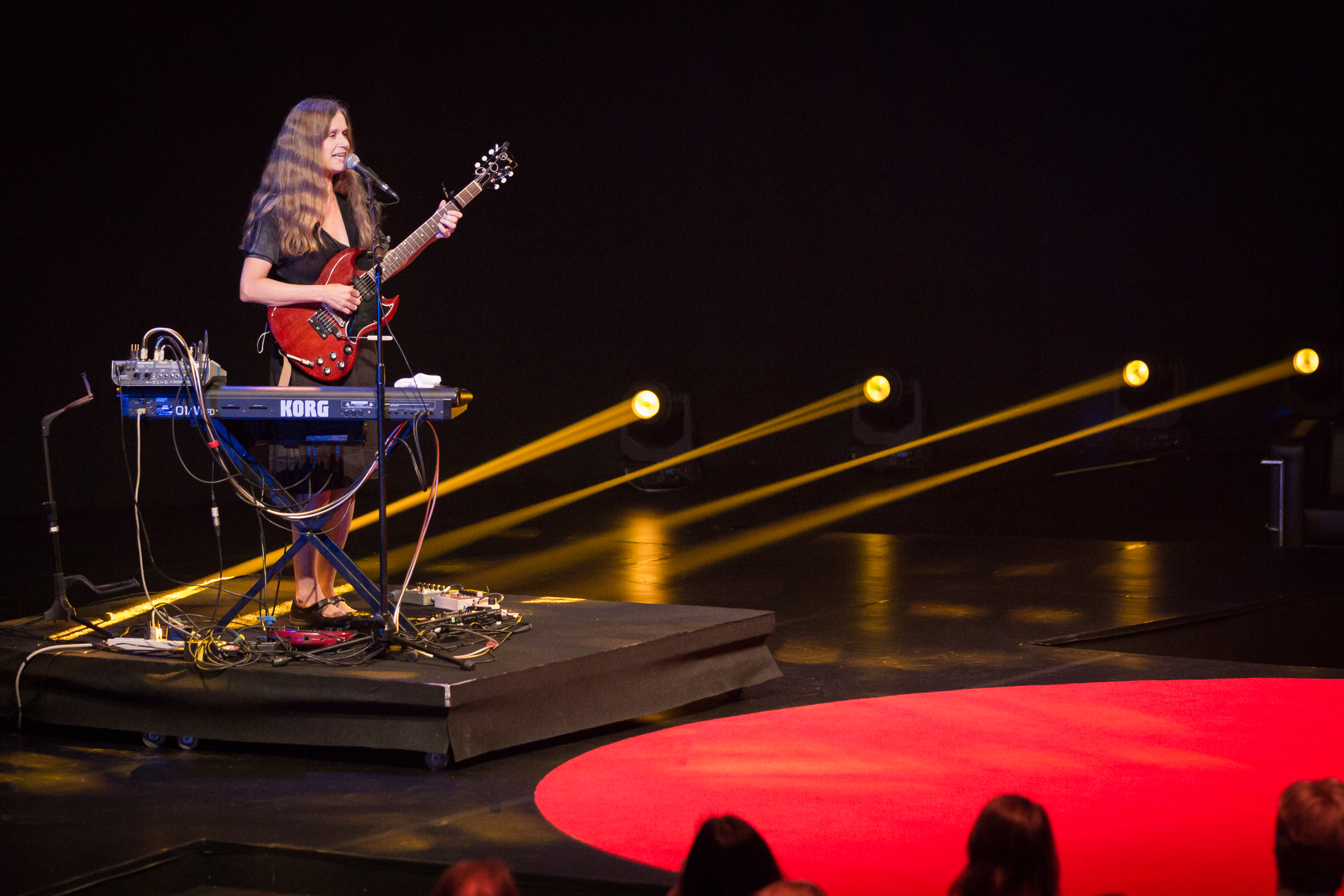 Juana Molina performs at TEDGlobal 2014. Photo: James Duncan Davidson/TED