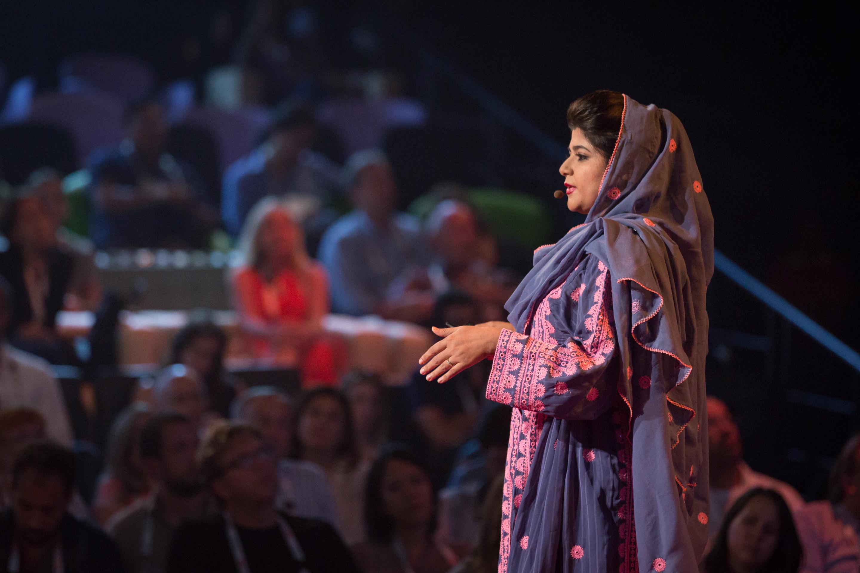 Khalida Brohi speaks at TEDGlobal 2014. Photo: James Duncan Davidson/TED