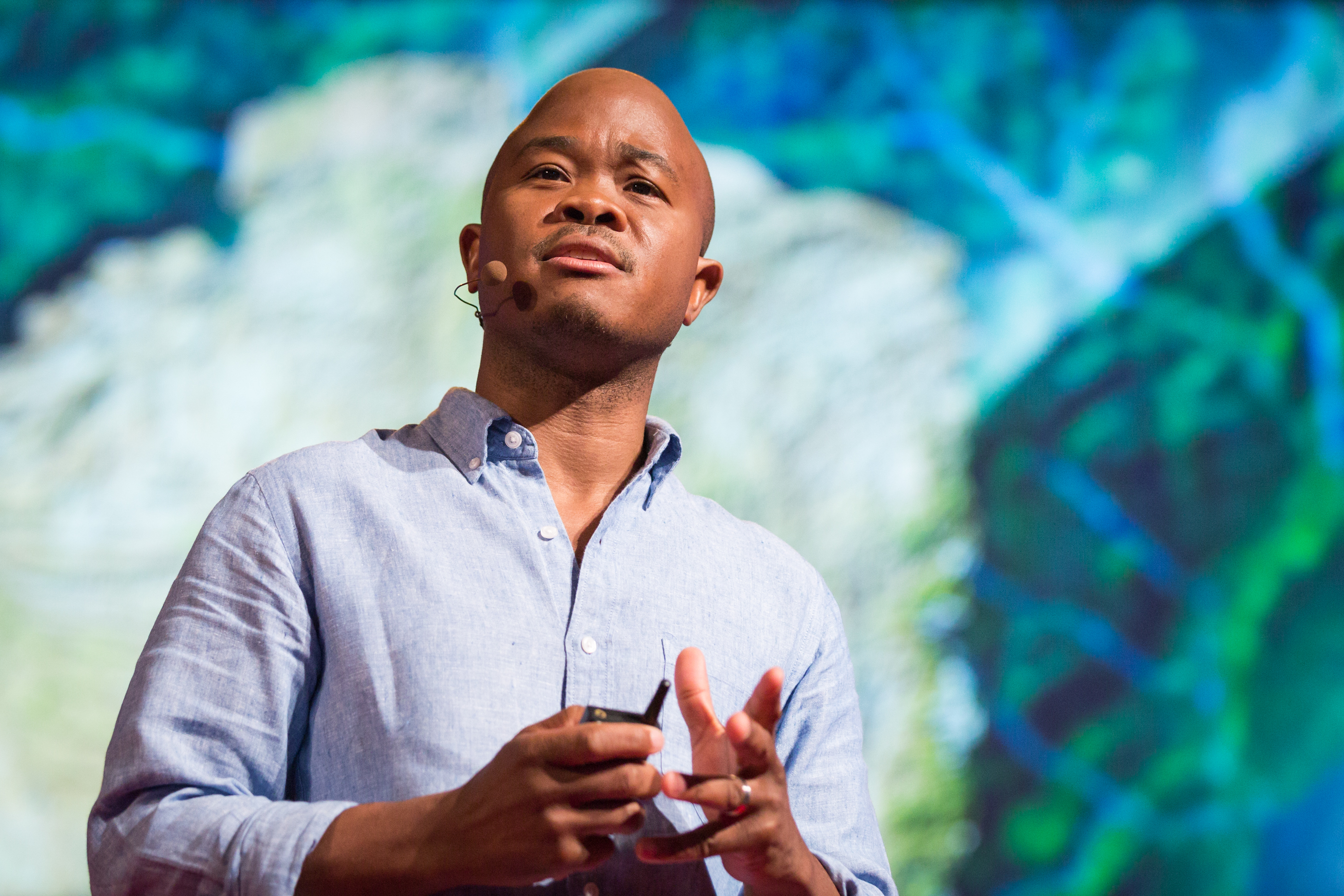 Fred Swaniker speaks at TEDGlobal 2014. Photo: James Duncan Davidson/TED