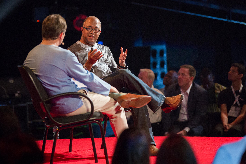 Chikwe Ihekweazu speaks at TEDGlobal 2014. Photo: Ryan Lash/Ryan