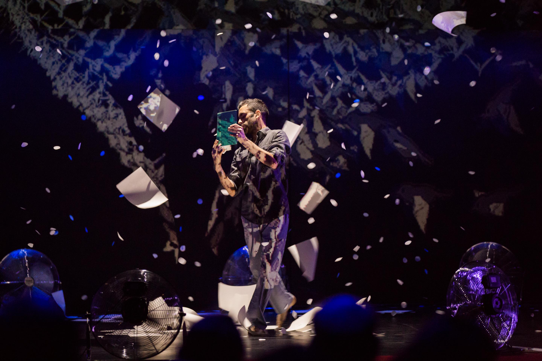 Aakash Odedra performs at TEDGlobal 2014. Photo: James Duncan Davidson/TED
