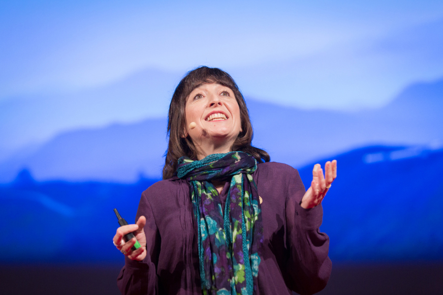Wendy Freedman talks about the Giant Magellan Telescope, being constructed in Chile. Photo: James Duncan Davidson