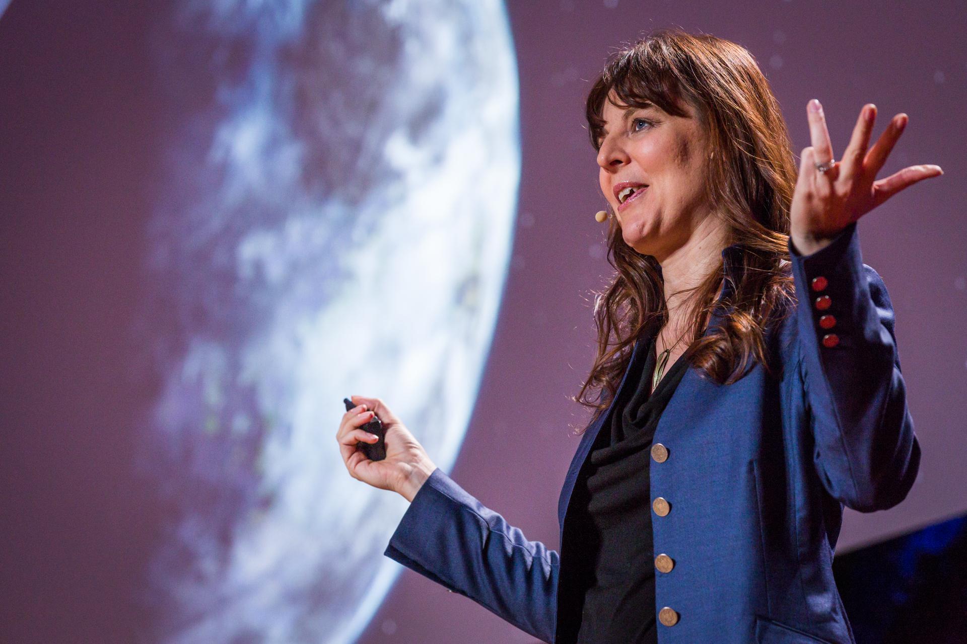 Lisa Kaltenegger speaks at TEDYouth, November 15, 2014, Session 1, Brooklyn Museum, Brooklyn, NY.  Photo: Ryan Lash/TED