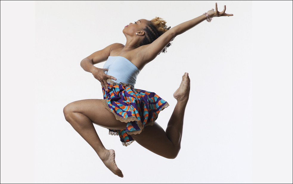 Camille Brown uses dance to prompt change. Photo: Matt Karas
