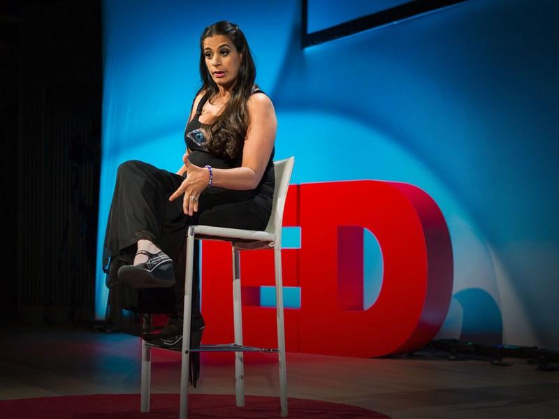 Maysoon Zayid slew at TEDWomen 2013. Her talk on