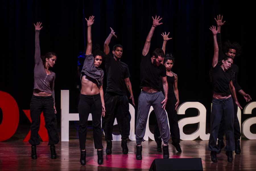 A dance break during TEDxHabana. Photo: Courtesy of Andres Levin