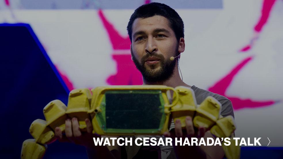 Cesar Harada TED Talk CTA