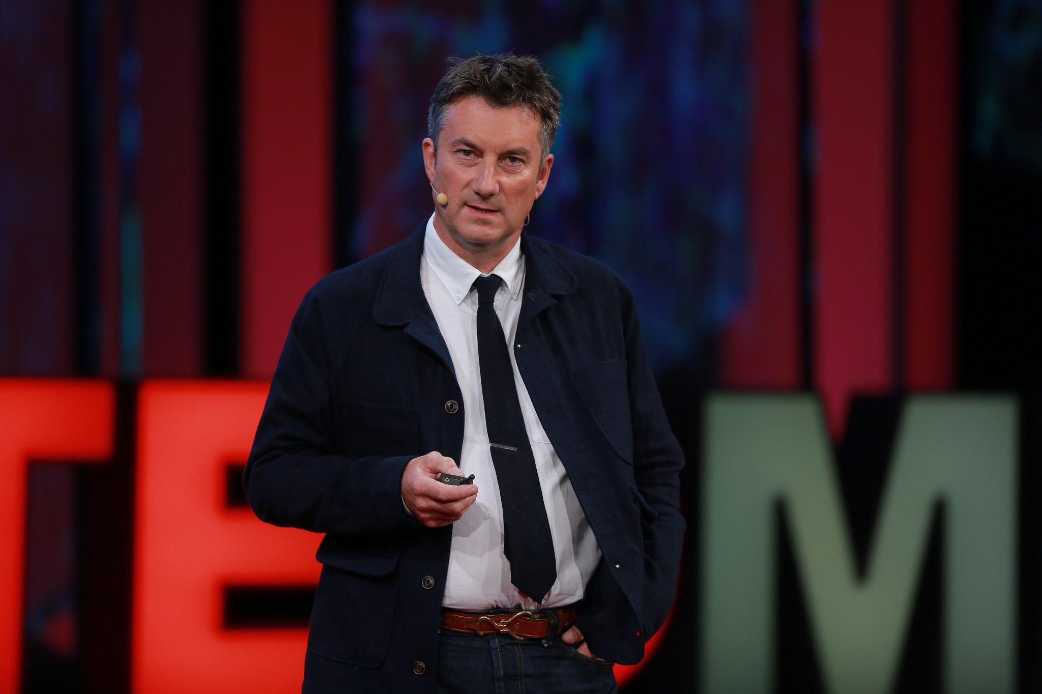 Marc Koska spoke at TEDMED 2014 about progress since his TED Talk in 2009. Photo: Courtesy of TEDMED