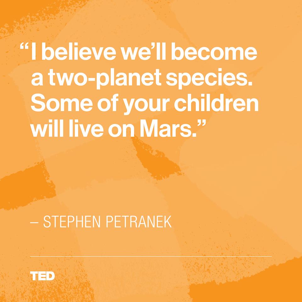 Stephen Petranek quote
