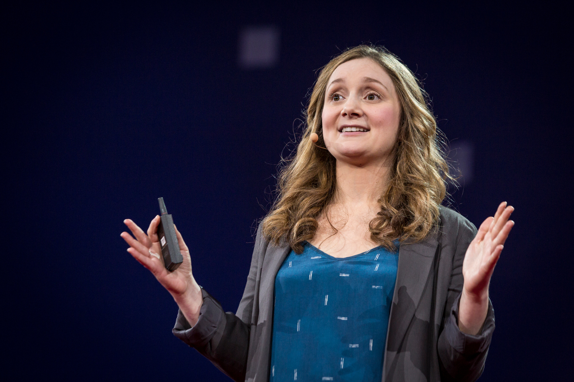 Alice Goffman speaks at TED2015 - Truth and Dare, Session 9. Photo: Bret Hartman/TED