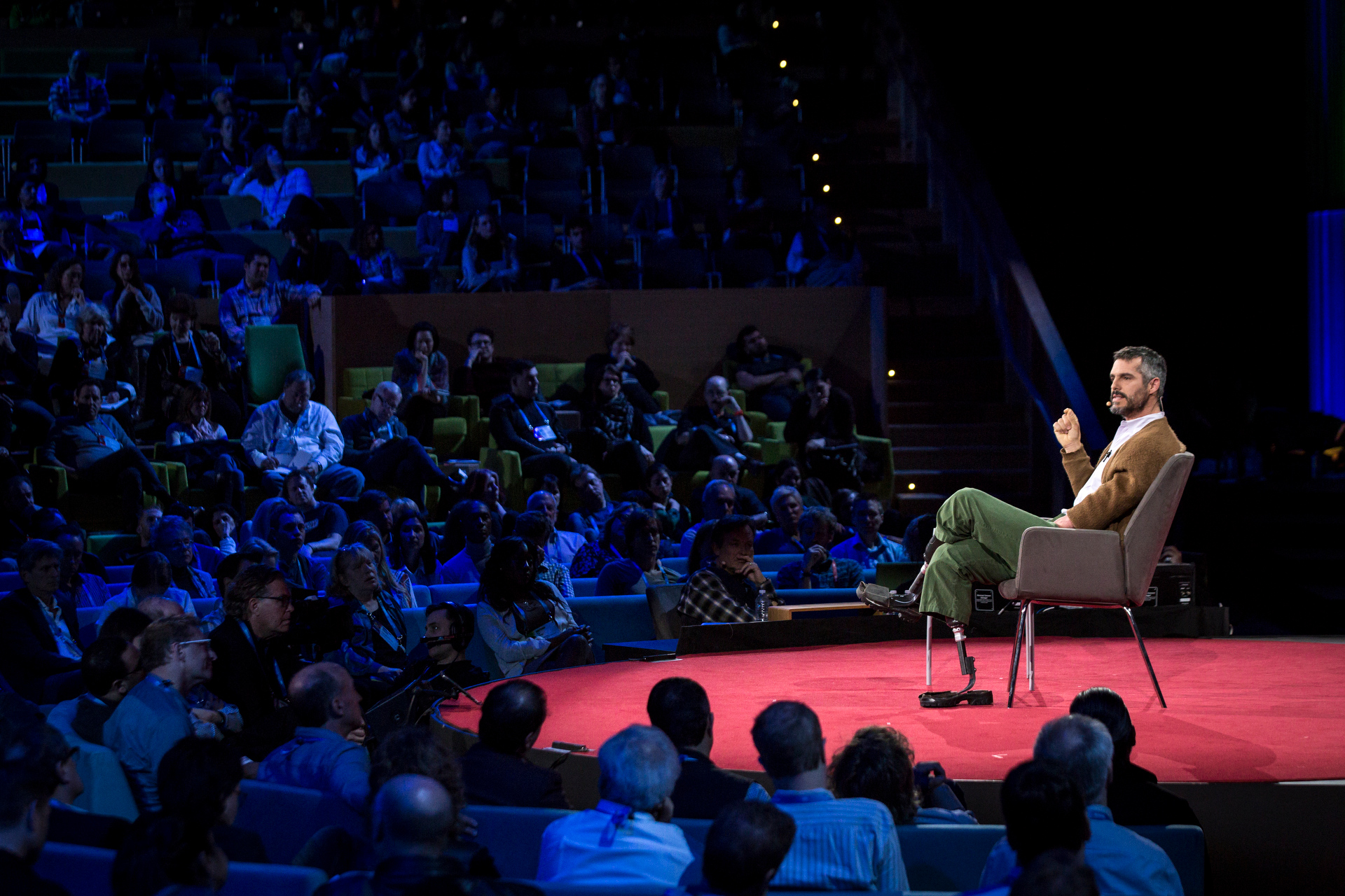 BJ Miller speaks at TED2015 - Truth and Dare, Session 12. Photo: Bret Hartman/TED