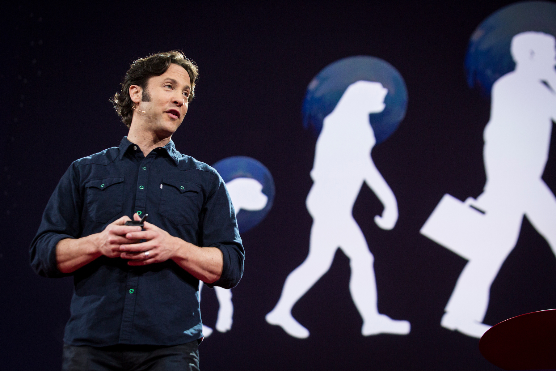 David Eagleman asked the question: Can we expand our perception? Watch this first talk released from TED2015. Photo: Bret Hartman/TED