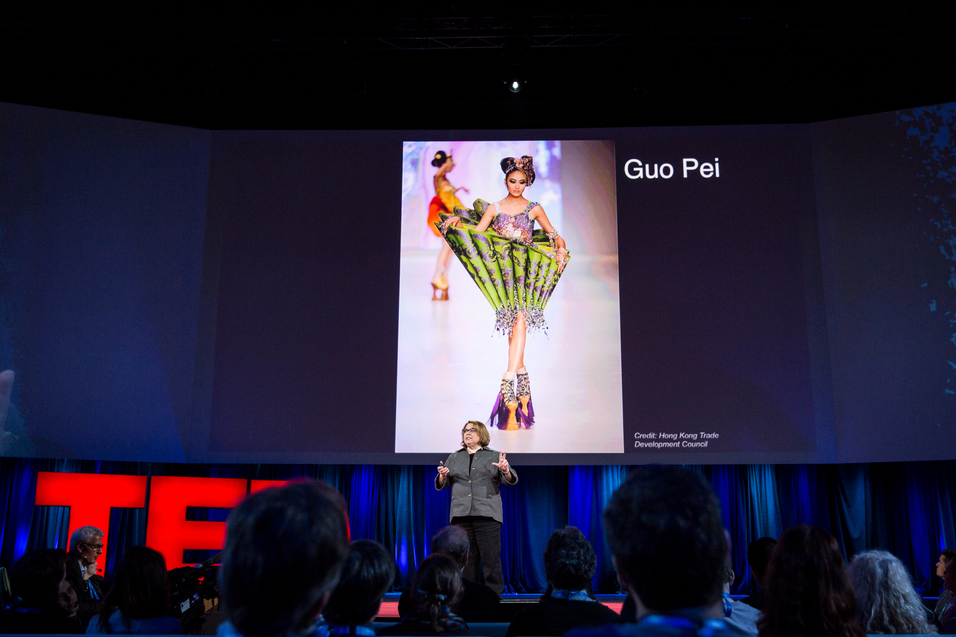 Lorraine Justice at TED2015 - Truth and Dare, TED University. Photo: Bret Hartman/TED