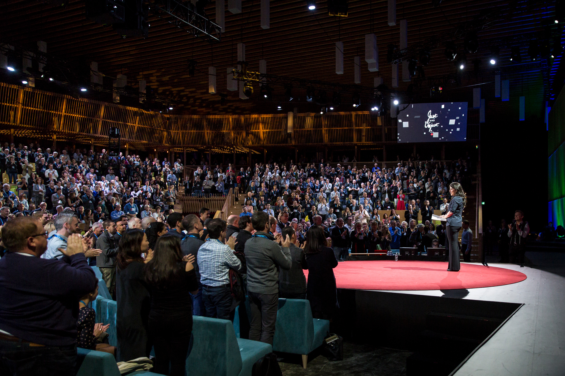 Monica Lewinsky speaks at TED2015 - Truth and Dare, Session 9. Photo: James Duncan Davidson/TED