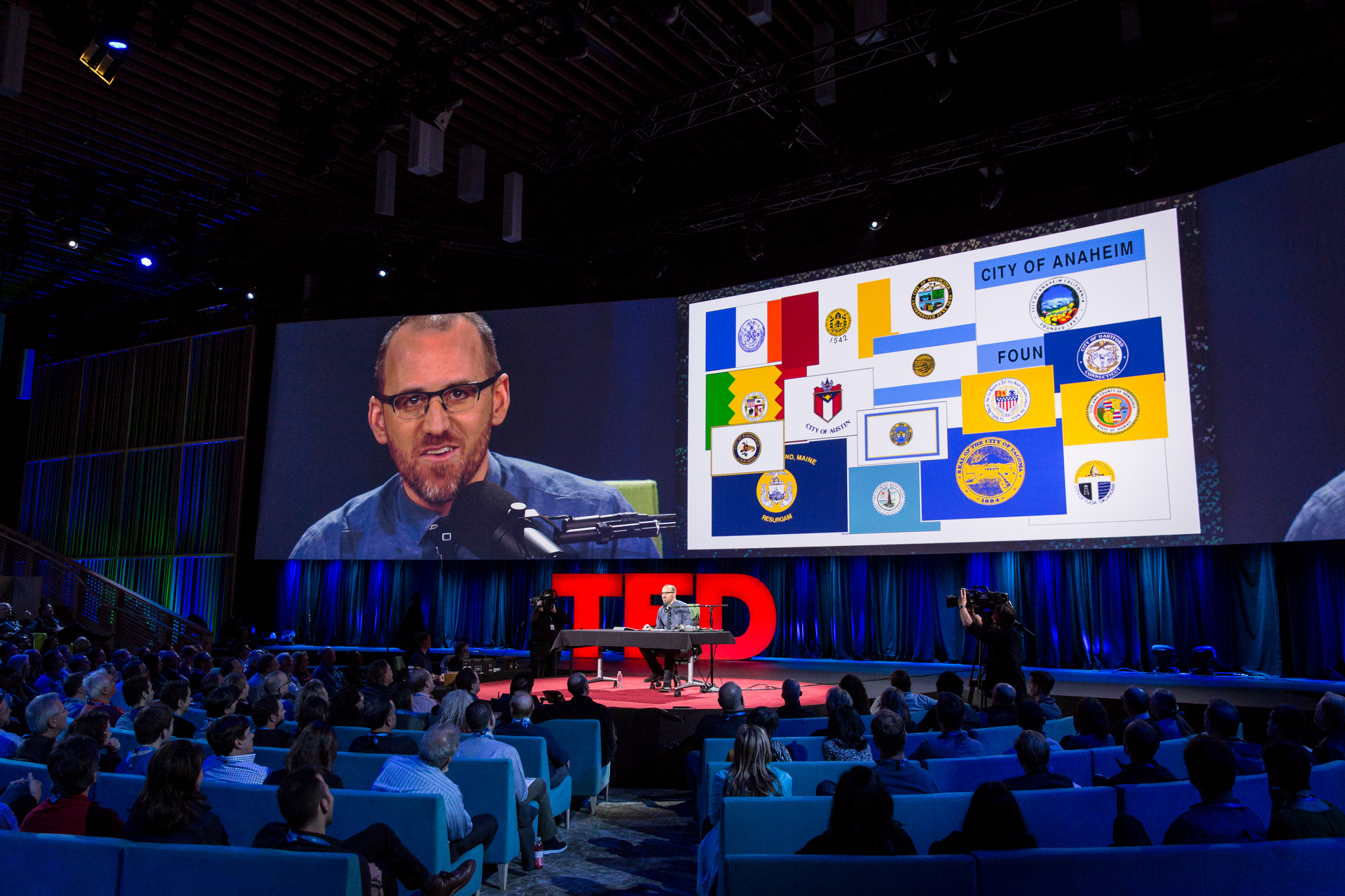 Roman Mars at TED2015 - Truth and Dare, Session 10. Photo: Bret Hartman/TED
