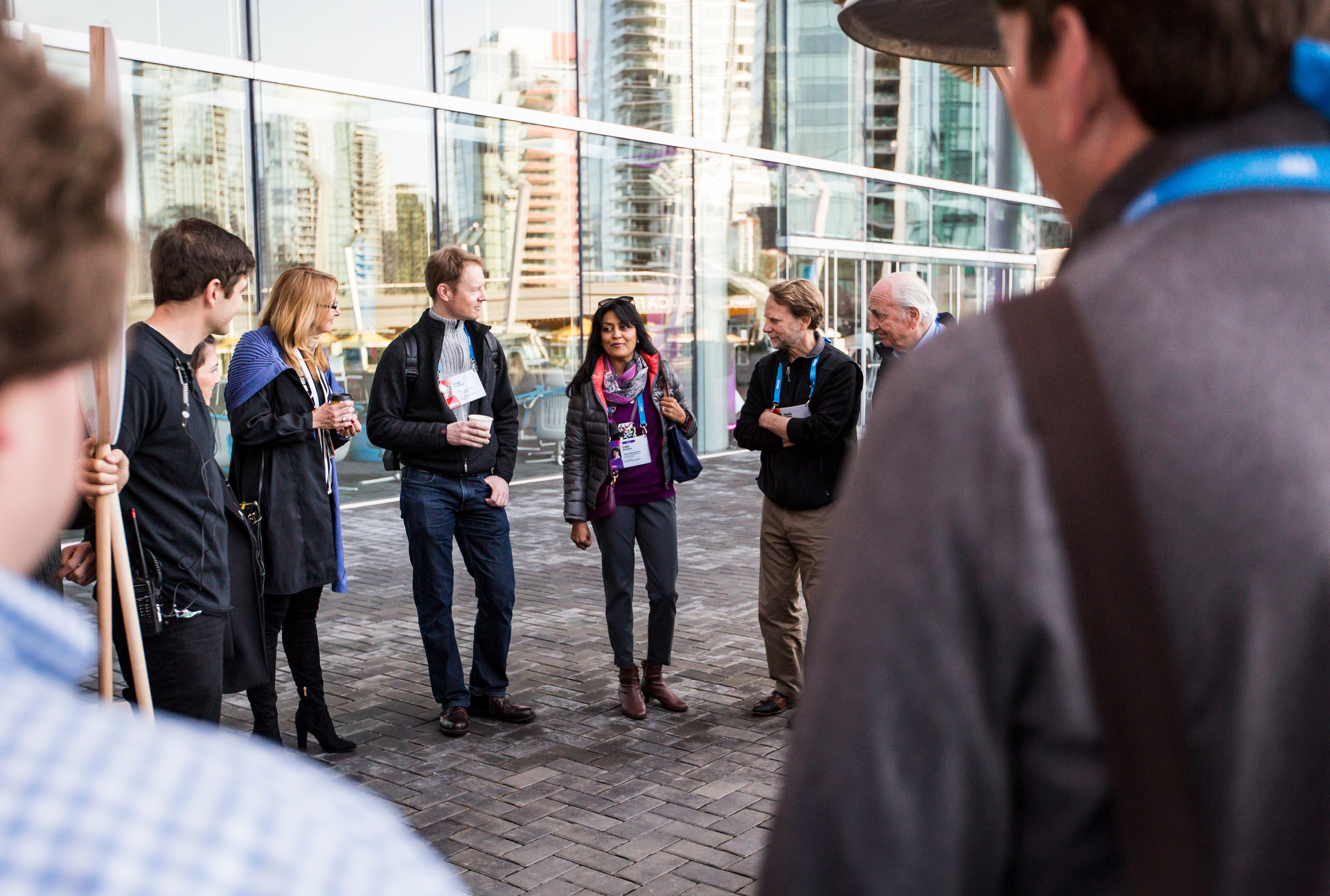 """At a """"speed meeting"""" session, TED2015 attendees get to know each other. Photo: Ryan Lash/TED"""