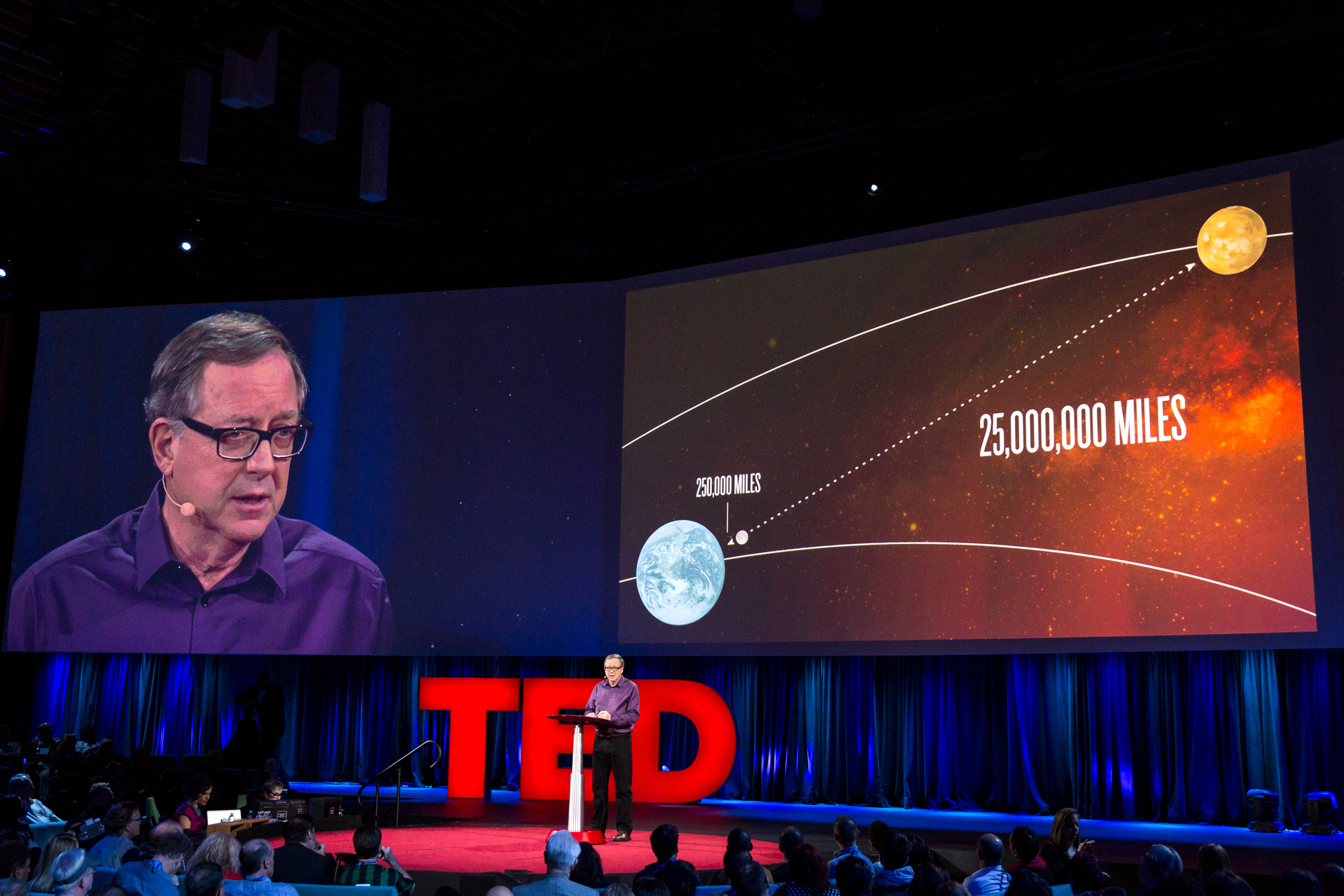 Stephen Patranek speaks at TED2015 - Truth and Dare, Session 4. Photo: Bret Hartman/TED