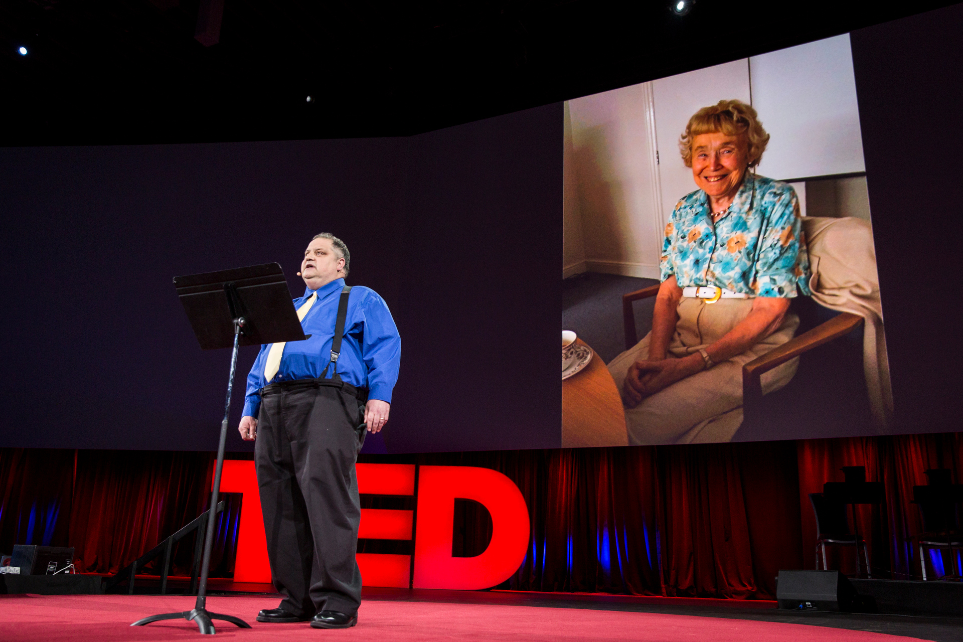 Steve Silberman speaks at TED2015 - Truth and Dare, Session 8. Photo: Bret Hartman/TED