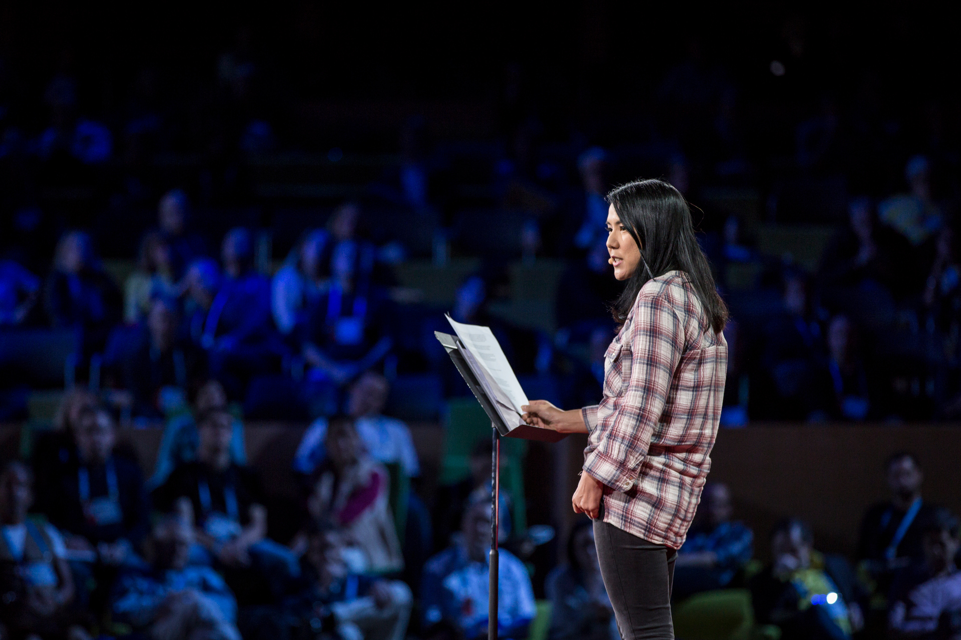 Suki Kim shares the incredible experience of living undercover in North Korea for six months. Read an excerpt of her book. Photo: Bret Hartman/TED http://ideas.ted.com/what-i-learned-from-teaching-english-in-north-korea/