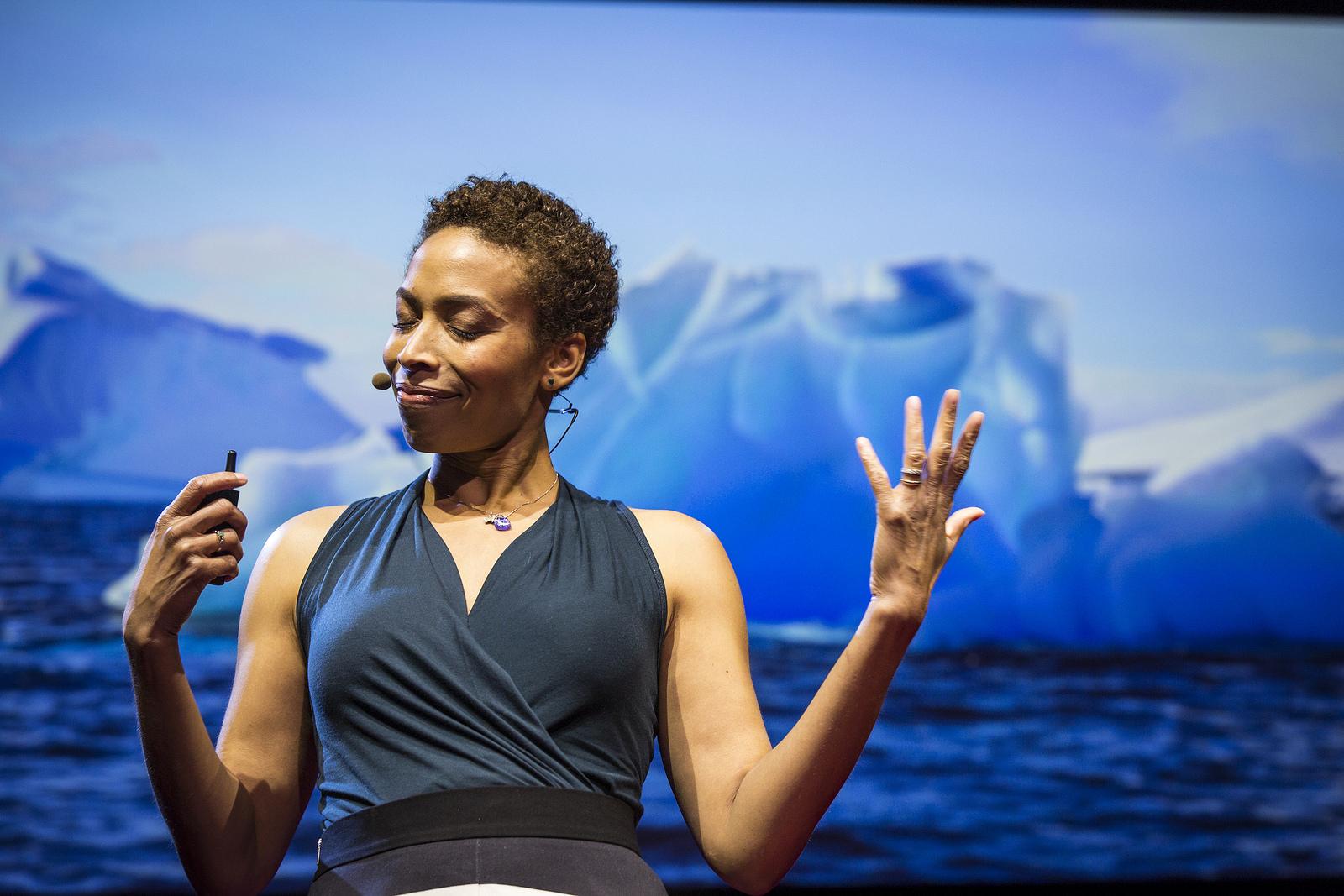 TED Fellow Aomawa Shields . Photo: Ryan Lash/TED