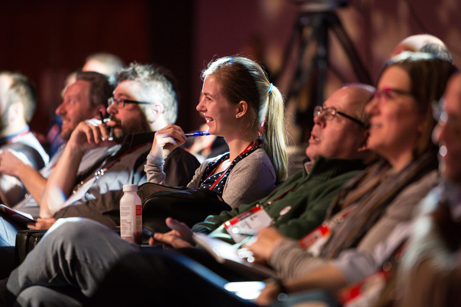 At TEDActive, attendees watch the conference program on bean bags, amidst a host of other activities. Photo: Marla Aufmuth/TED