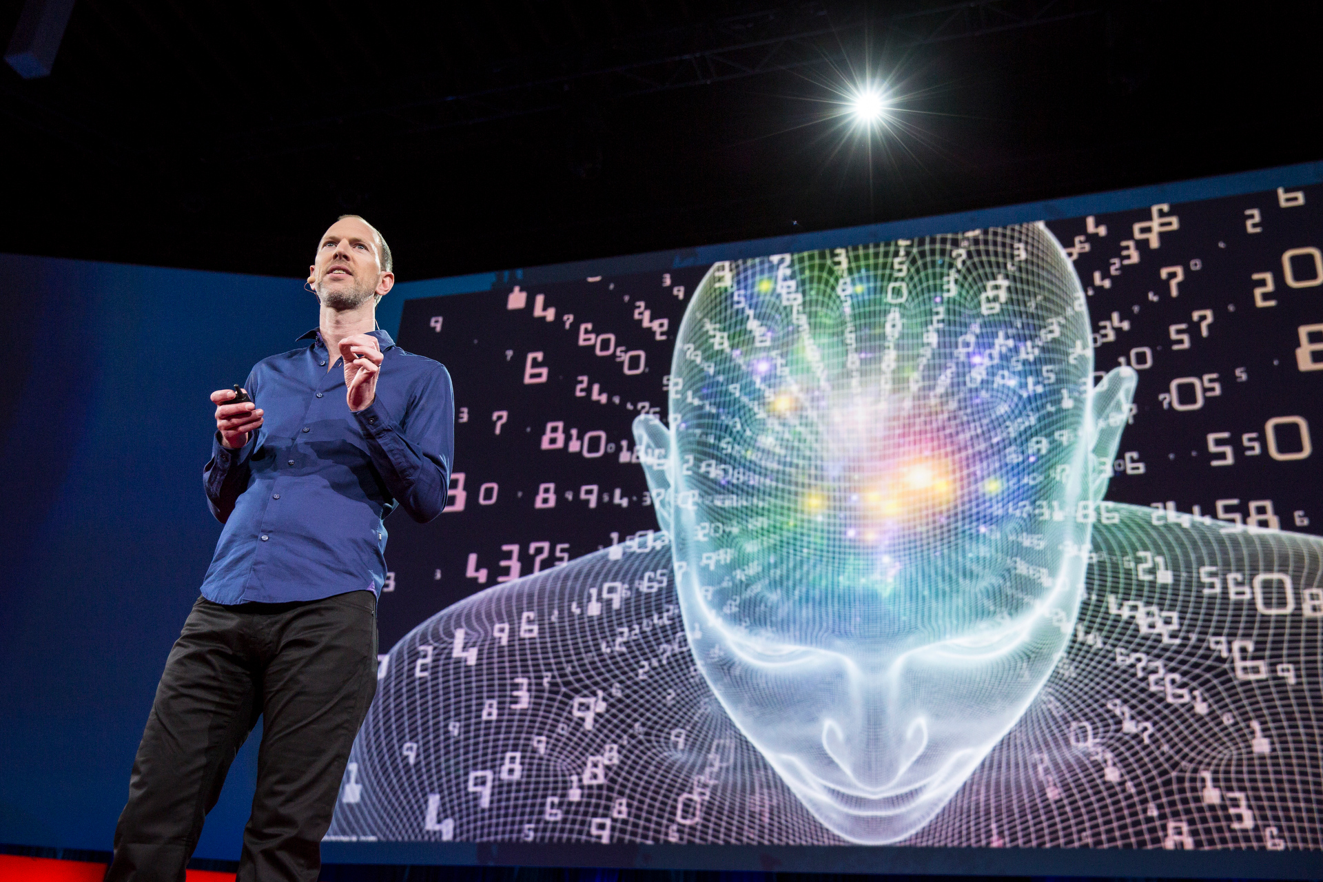 Tim Leberecht at TED2015 - Truth and Dare, TED University. Photo: Bret Hartman/TED