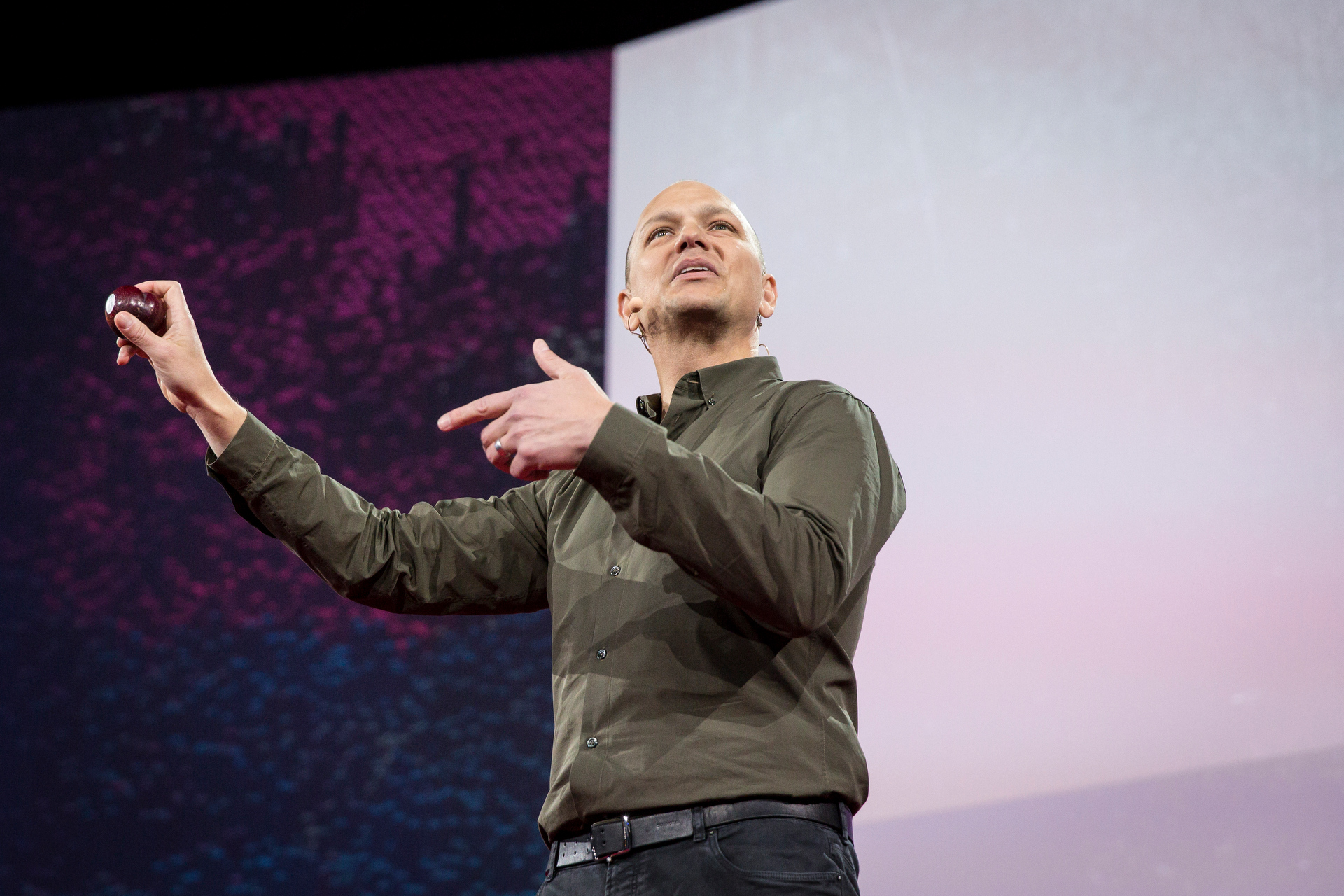 Tony Fadell speaks at TED2015 - Truth and Dare, Session 7. Photo: Bret Hartman/TED