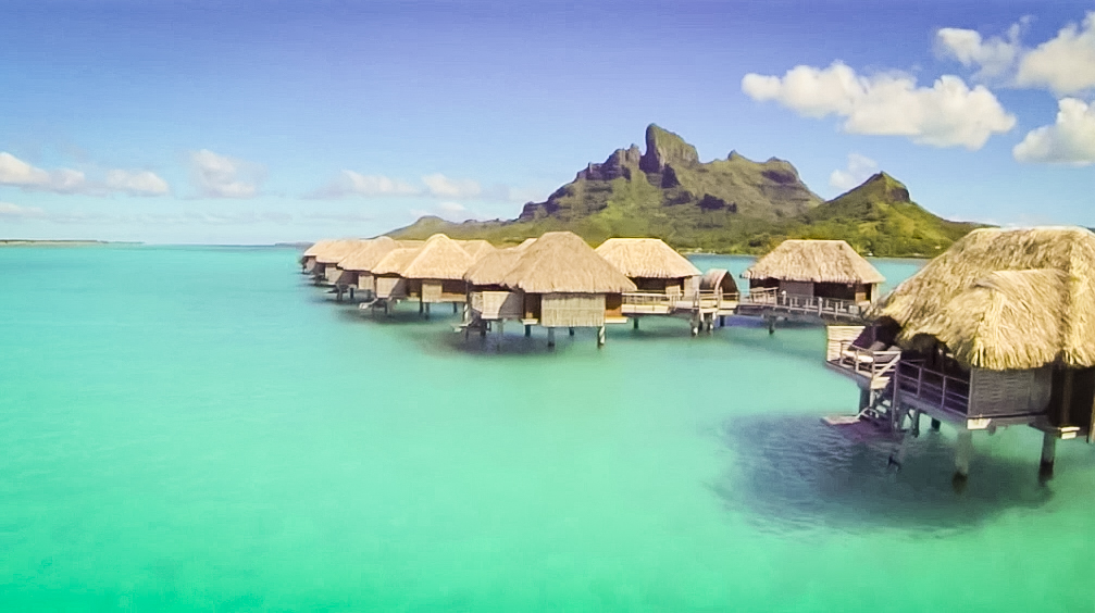 One of the stops on Henry's telepresence tour of the world? Bora Bora. See how he virtually visited in the update video to his TED Talk.