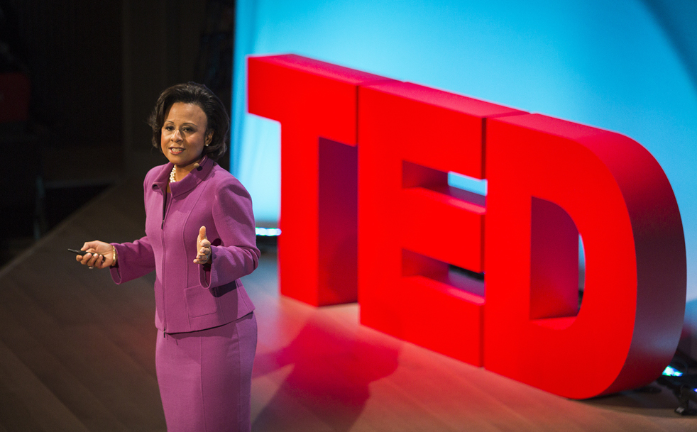 Paula Johnson's talk at TEDWomen gave attendees a new appreciation of why it's important to include women — and female animals and female cells —in medical research. Because even cells are gendered. Photo: TED