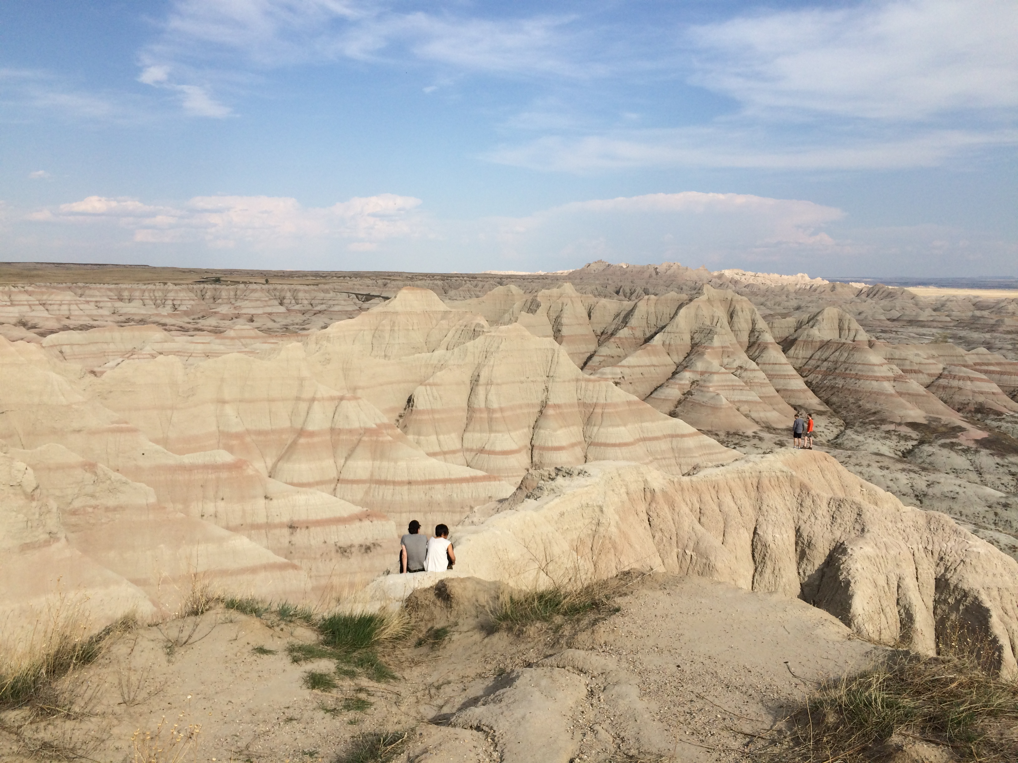 Where we are right now: Badlands National Park for our seventh Tech Summit. It's a time for us to discuss goals in person — and experience a new location together. Photo: Haley Hoffman