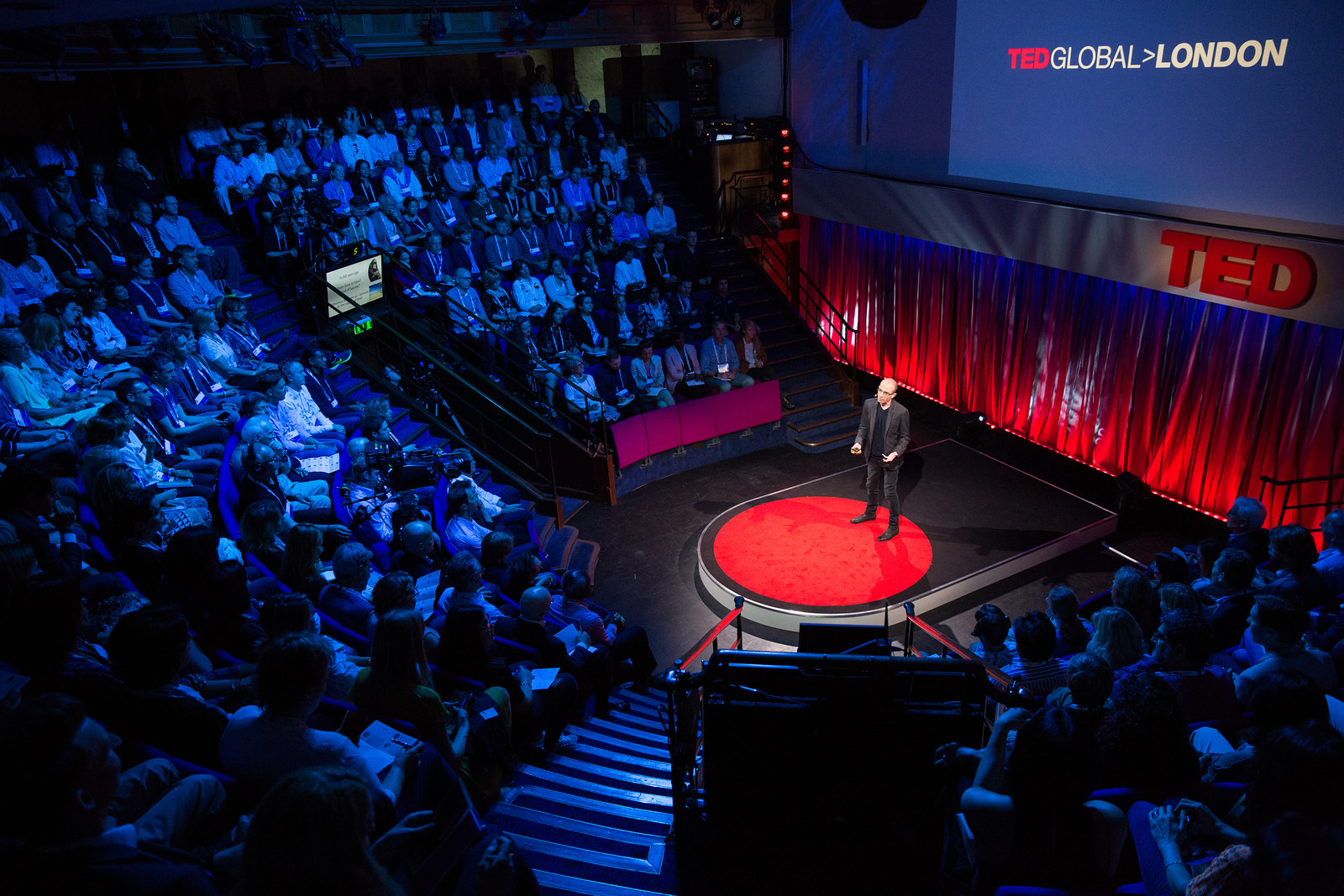 Why do humans rule the world? At TEDGlobalLondon, Yuval Noah Harris says it's our ability to imagine. Photo: James Duncan Davidson/TED