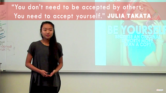 Julia Takata TED-Ed Club presentation