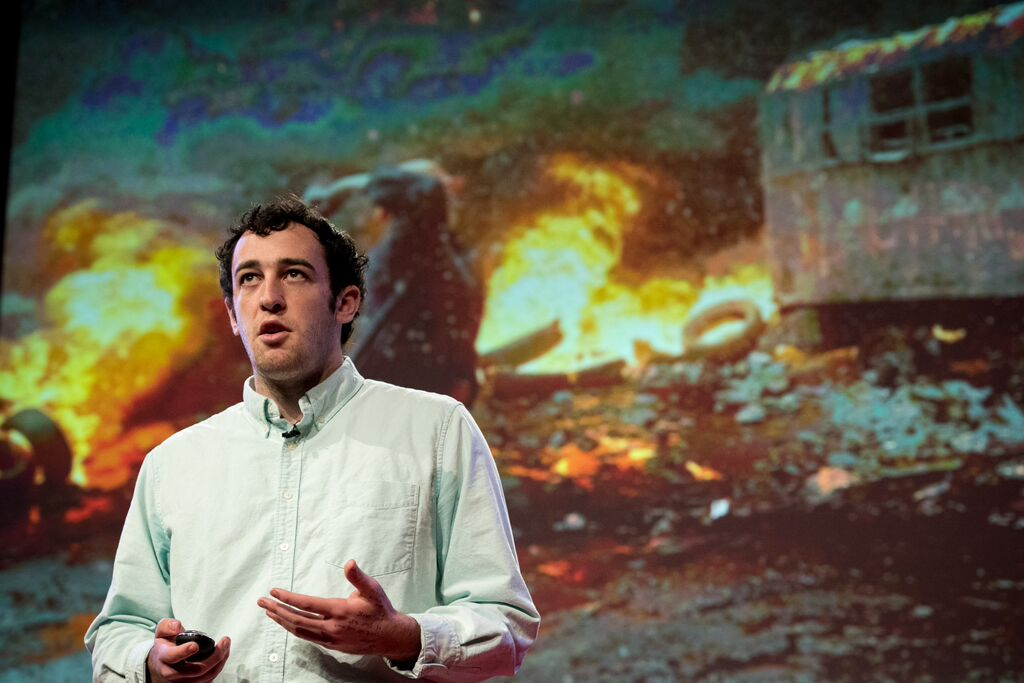 David Mace didn't always love math. But he has created an algorithm designed to predict wars. Photo: Courtesy of TEDxTeen