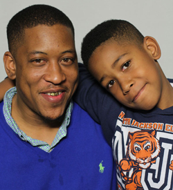 Albert Sykes was interviewed by his son, Aidan Sykes, about his hopes and dreams.