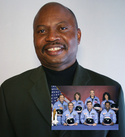 Carl McNair remembers his brother Ronald McNair, who died in the Challenger explosion.