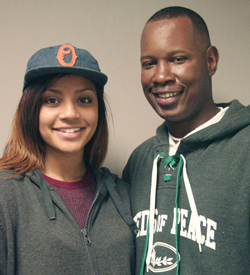 Wil Smith got help from his basketball teammates in raising his daughter, Olivia Smith.