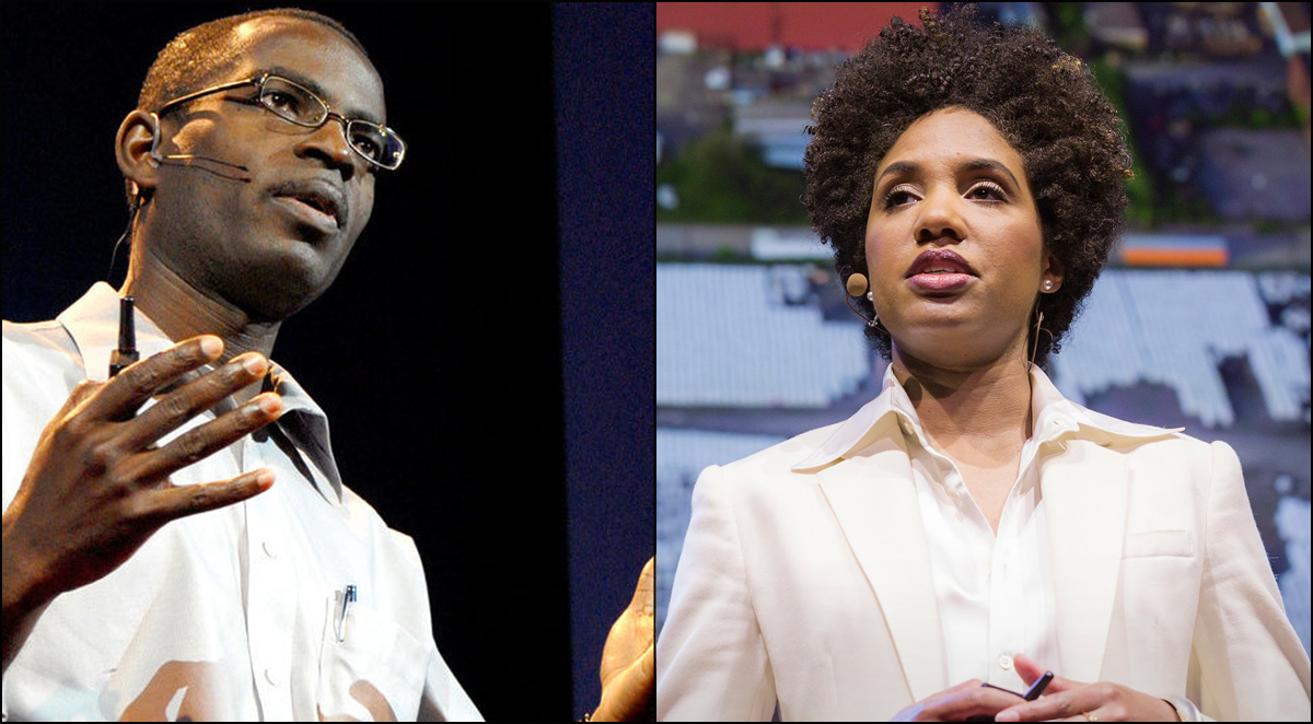 Education entrepreneur Patrick Awuah and photographer LaToya Ruby Frasier have been named 2015 MacArthur 'Geniuses.' They are both also TED Fellows — Patrick from the very class and LaToya from the last class. Photo: TED