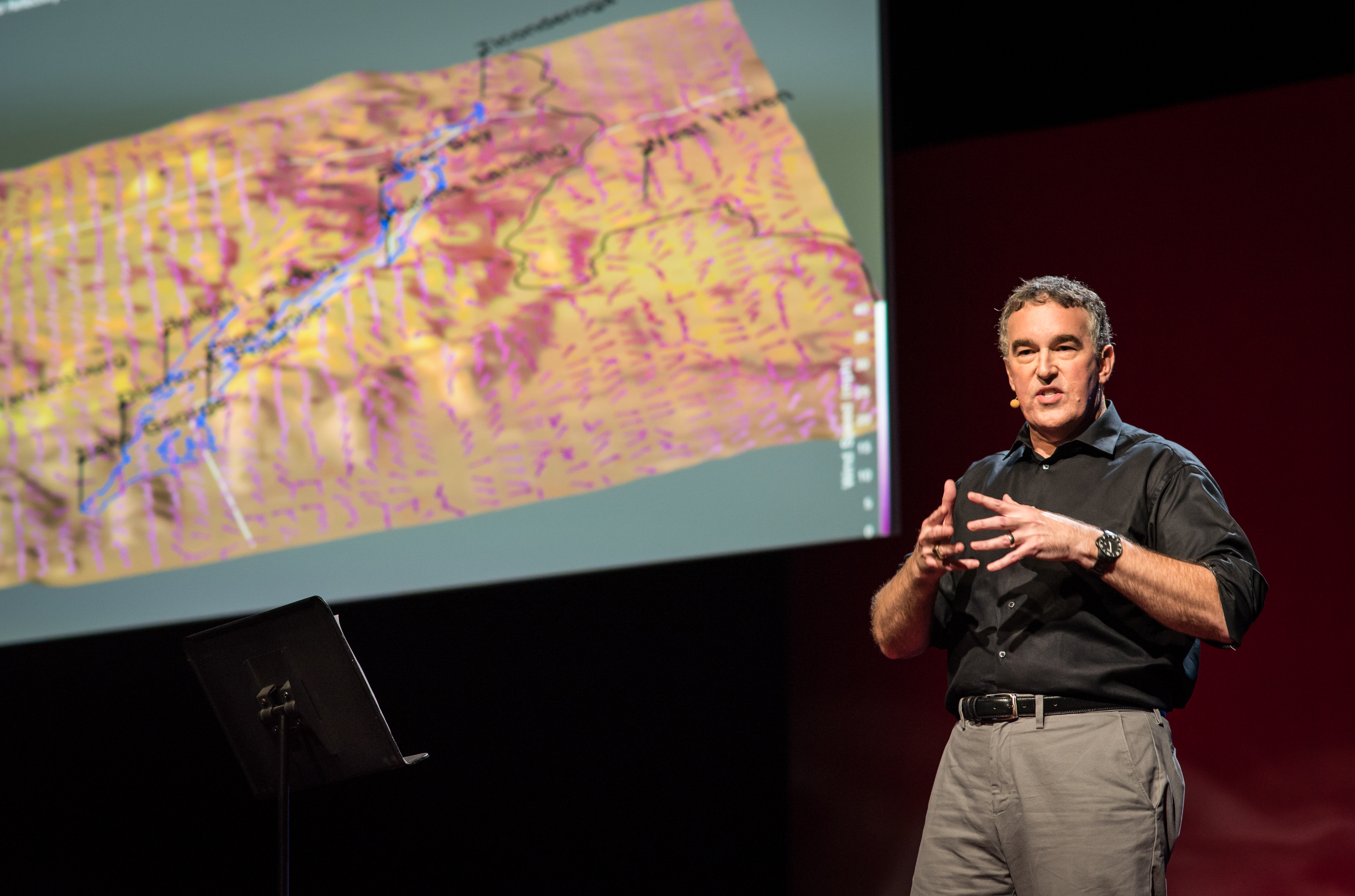 Lloyd Treinish is as sick on inaccurate weather reports as you are. He's working on tech to improve our relationship to the weather. Photo: Russell Edwards/TED