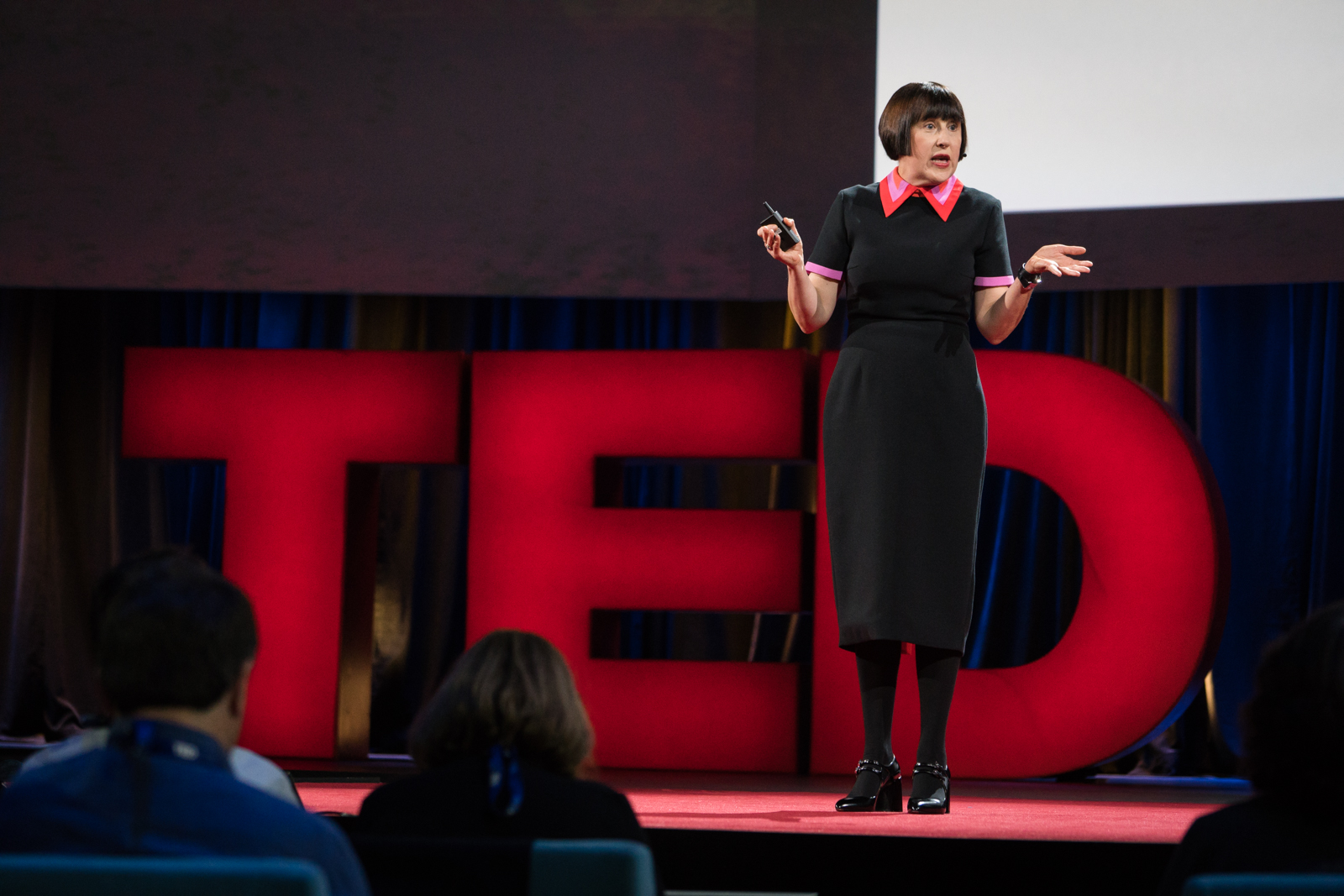 Alice Rawsthorn speaks at TED2016 - Dream, February 15-19, 2016, Vancouver Convention Center, Vancouver, Canada. Photo: Bret Hartman / TED