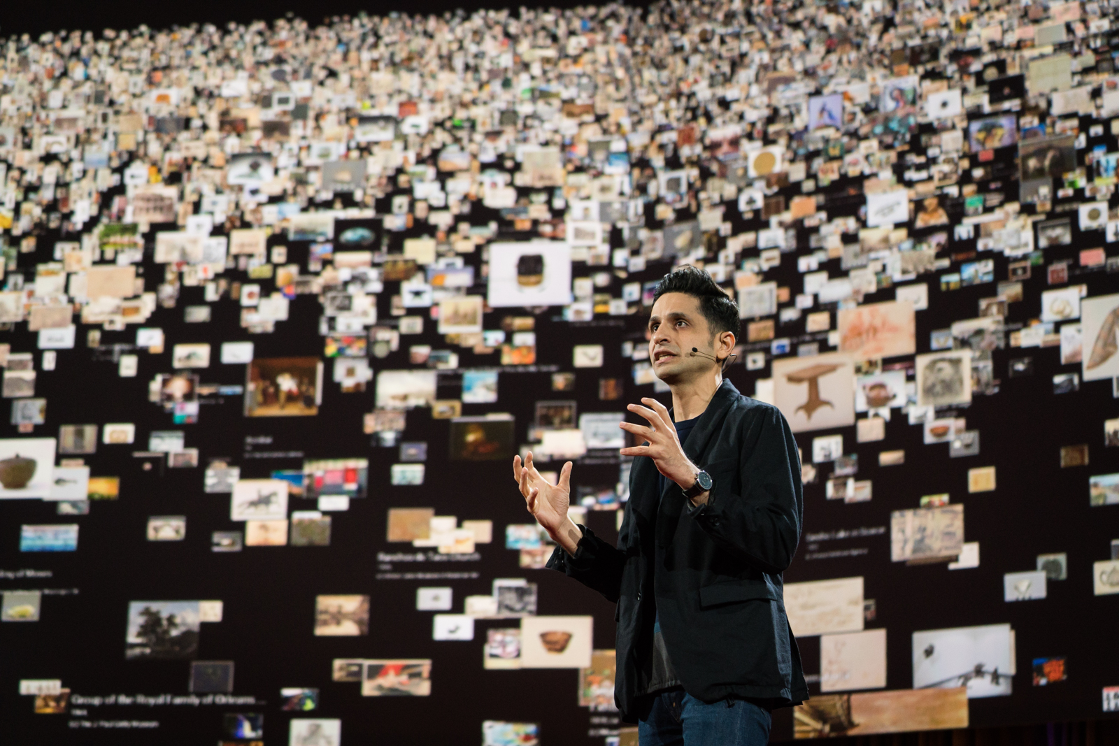 Amit Sood speaks at TED2016 - Dream, February 15-19, 2016, Vancouver Convention Center, Vancouver, Canada. Photo: Bret Hartman / TED